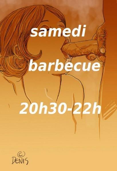 Barbecue. 20h30 à 22h